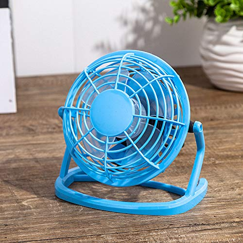 Oscillerende Bureau Ventilator Usb Bureau Ventilator Desk Top Fans Draagbare Desk Fan Mini Bureau Fans Tafel Ventilator Fans Cooling Desk green