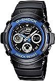 Casio G-SHOCK Reloj Analógico-Digital, 20 BAR, Azul, para Hombre, AW-591-2AER