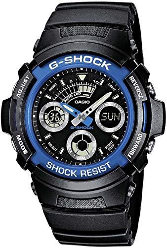 Casio G-SHOCK Orologio 20 BAR, Azzurro, Analogico - Digitale, Uomo,...