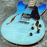 Ibanez AS Artcore AS73FM Semi-Hollow Body Electric Guitar (Azure Blue)