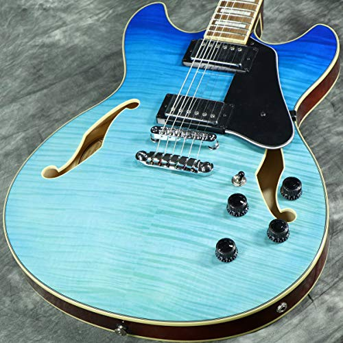 Ibanez AS Artcore AS73FM Semi-Hollow Body Electric Guitar (Azure Blue)