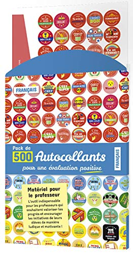 PACK DE 500 AUTOCOLLANTS POUR LEVALUATION A1 A2.1 (Zoom)
