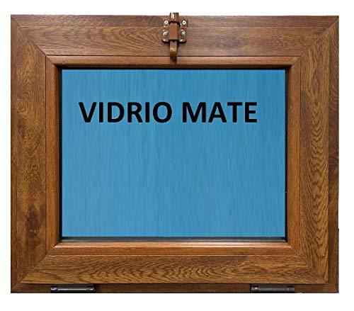 ECO-BLUVentana PVC golpete 600x500 mm 1h Color Madera (Roble dorado)