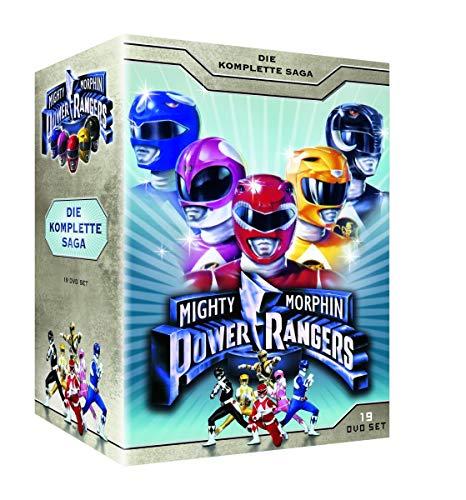 Mighty Morphin Power Rangers - Die komplette Saga (19 Discs)