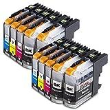 10x Druckerpatronen Komp. für Brother LC223xl LC223 XL LC-223 XL LC-223XL für Brother mfc-j5320dw patronen MFC-J5320DW MFC-J480DW MFCj480 dw DCP-J562DW