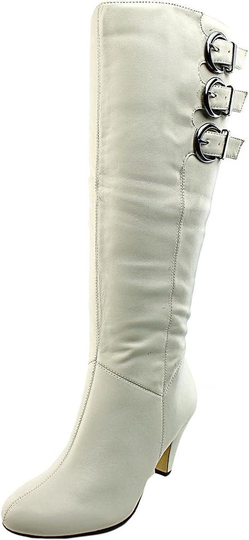 Bella Vita Transit II Women US 8 W White Knee High Boot