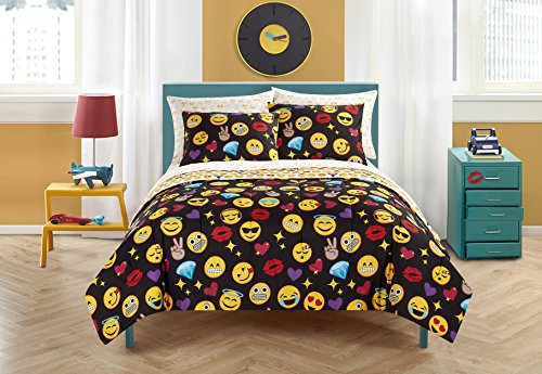 Emoji Pals Bling Bedding Set