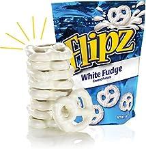 Flipz White Fudge Pretzels, 5oz (Pack of 4)