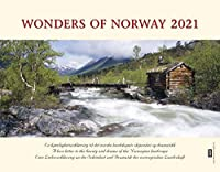 Panorama Norwegen 2021 Tischkalender: Eine Liebeserklaerung an die Schoenheit und Dramatik der norwegischen Landschaft