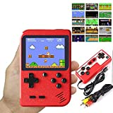 Hot Video-Game 8 Bit Retro Mini Pocket Gameboy Handheld Game Player Built-in 400 Classic Games for Child Nostalgic Player (red)