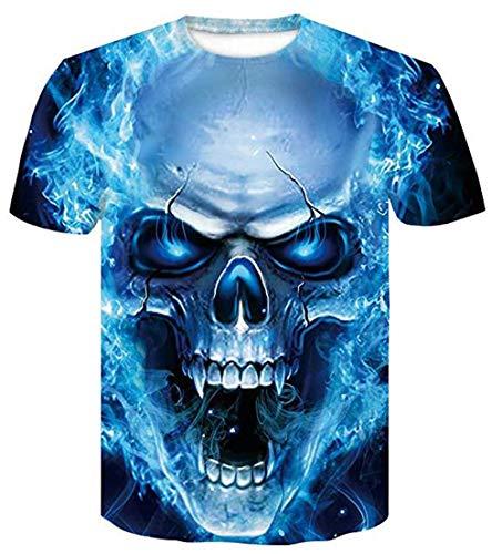 Ovender® 3D T-Shirt Digital Gráfica Unisex Camisetas de Ma