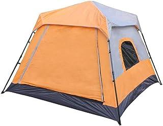IDWOI-tält 4–6 personer automatisk camping tält vattentät vindtät utomhus fritid familjetält, 3 färger