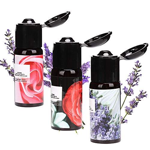 Ätherische Öle Set, 3 Flaschen Natürliches Aromatherapie Duftöl, Lufterfrischer Öl, Zuhause & Salon Körpermassageöl, Müdigkeit und Stress abbauen, Ätherische...