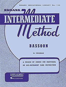 Paperback Rubank Intermediate Method - Bassoon Book