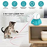 petnf Cat Laser Toy,Laser Ball for Cats,Cat Toys Interactive,Non-Toxic...