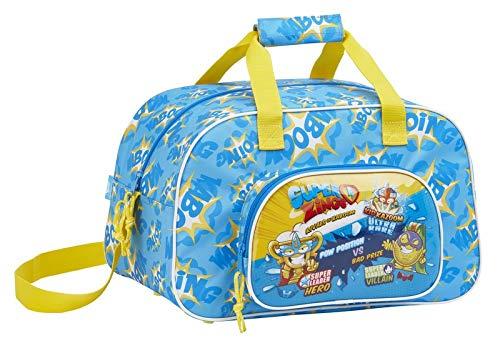 Safta Sport Bag 40 Cm Superzings, Bolsa de gimnasio Unisex bebé, Colorido, 40 Centimeters