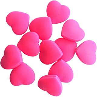 ruiycltd 3Pcs Heart Shape Silicone Tennis Racket Shock Absorber Dampener Reduce Vibration New Year's Gift