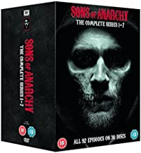 Sons Of Anarchy - Complete Seasons 1-7 [DVD] by Charlie Hunnam