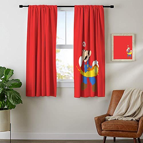 cortinas ventana mario bros