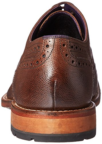 Ted Baker Men's Guri 8 Oxford, Brown Leather, 9.5 M US