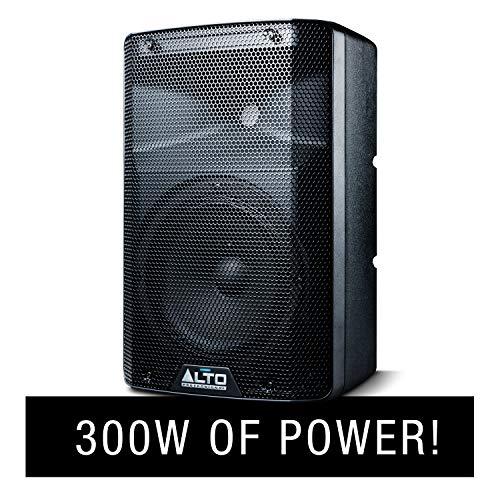 ALTO Professional actieve luidspreker met 2-weg conus, actieve crossover, performance-verbindingen en geïntegreerde analoge limiet 300 W 8 Pollici