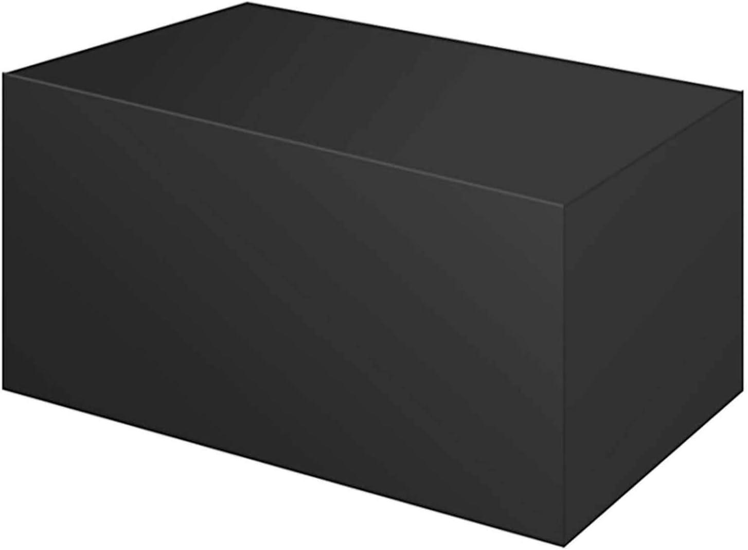 "WZDD Patio Table Set Tulsa Mall Cover 83""x55""31"" Max 60% OFF Wat Furniture"