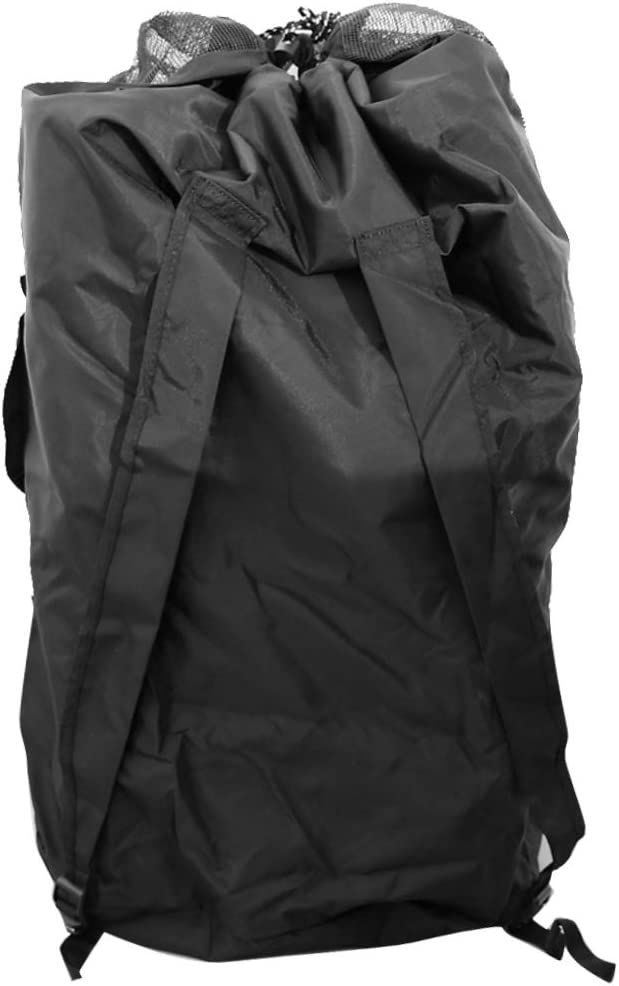 Homyl Lightweight Sales of SALE items from new works Foldable Mesh Duffel w Seattle Mall Compa Dive Bag Backpack