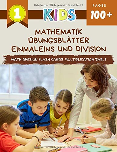 Mathematik Übungsblätter Einmaleins Und Division Math Division Flash Cards Multiplication Table: Practice daily easy 123 maths manipulatives exercise ... educational games for beginners kids