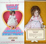 VINTAGE IDEAL SHIRLEY TEMPLE AMERICA'S SWEETHEART DOLL - 16.5' Tall Porcelain Doll - MINT IN ORIGINAL BOX!