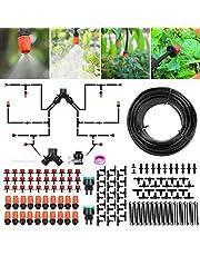 Irrigatiesysteem Tuin, Druppelirrigatie Kit 30M Automatische Irrigatie Micro Sprinkler Struik Drip Kit Tuin Irrigatie voor Landschap, Bloembed, Patio Planten (149st)
