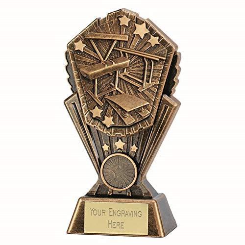 Cosmos Gymnastics - Premio de Gimnasia Personalizable, 7 Inch (17.5cm)