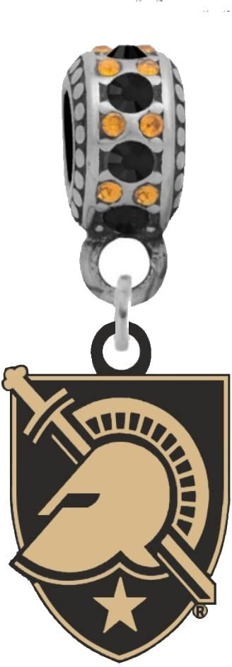 Army West Point Logo Charm Fits Compatible Easy-to-use OFFicial shop With Pandora Style Br