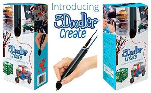 3Doodler Create 3D Pen 3D Stift 3D Drucker mit 25 Strängen von PLA und 25 Stränge aus ABS-Kunststoff - 5