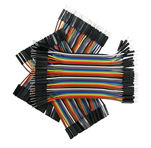 10cm ZipWire Kit - 3 Unzippable Ribbon Cables, 40-Wires Each, Male-to-Male, Male-to-Female, Female-to-Female, 10 Rainbow Colors, 28AWG Strip Wire [KIT-ZW-10x3]