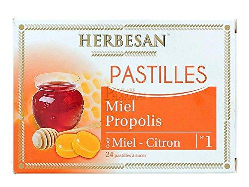 HERBESAN Honing Propolis Honing Citroen - 24 tabletten