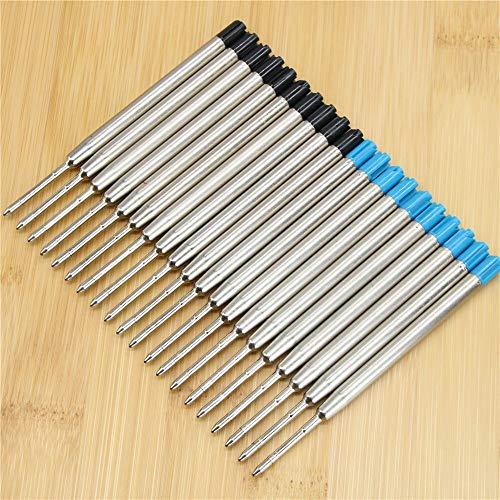 HAOXUE Ballpoint 10 Stks Balpen Vult Factory Outlets Office School briefpapier Pen Vullingen Blauw