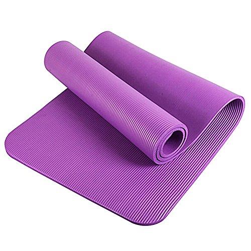 tappetino fitness fucsia Glamexx24 Tappetino Spesso e Morbido per Il Fitness