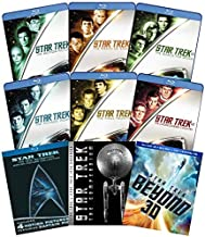 The Complete Star Trek Feature Film Library 13-Movie DVD Collection: Star Trek I, II, III, IV, V, VI, VII, VIII, IX, X, Star Trek 2009 (XI), Into Darkness (XII), Beyond (XIII) + Extra Bonuses [1, 2, 3
