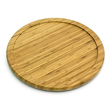 Lipper International 8304 Bamboo Wood 14  Kitchen Turntable