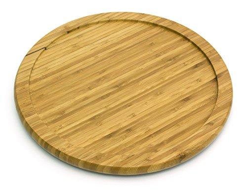 Lipper International 8304 Bamboo Wood 14' Kitchen Turntable