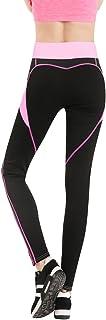 BOZEVON Women Sports Leggings, Ladies Workout Gym Fitness Exercise Yoga Pants,Jumpsuit Athletic Stretch Trouser Heart-Shap...