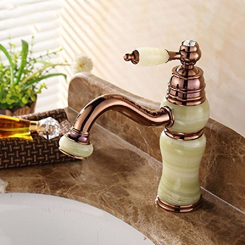 Buy Bargain Modern Simple Brass Constructed Polished Hot And Cold Basin Sink Faucet Bathroom Sink Fa...