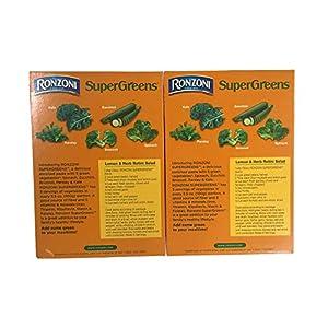 Ronzoni SuperGreens Rotini Pasta, 12 Oz. Boxes (Set of 2)