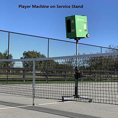 Spinshot PLAYER TENNIS BALL MACHINE WITH PHONE REMOTE SUPPORT