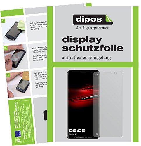 dipos I 6X Schutzfolie matt kompatibel mit Huawei Mate RS Porsche Design Folie Bildschirmschutzfolie
