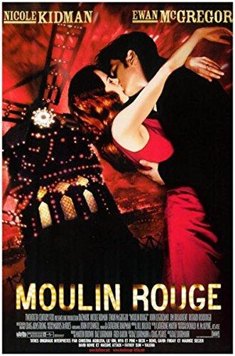 MOULIN ROUGE Affiche Cinéma Originale Petit Format (53x40 cm pliée) Nicole Kidman