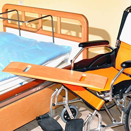 fall Rollstuhl Rutschbrett, Transfer-Board Assist Device, Heavy Duty Gleitplatten Kurzstrecken-Mobil, for Transfers von Senioren und Handicap