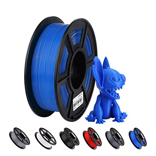 ANYCUBIC 3D Printer PLA Filament,1.75mm Dimensional Accuracy +/- 0.02 mm 1kg Spool PLA Filament for Most 3D Printers (Blue)