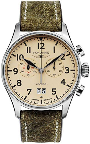 Junkers Armbanduhr 5186-5 Herrenuhr