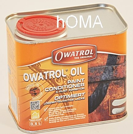 OWATROL-OIL – Entroster & Konservierer 0,5 ltr. / Preis per Ltr. 33,80€